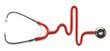 Leinwanddruck Bild - Stethoscope Pulse