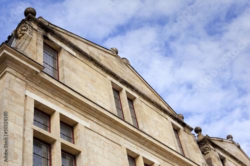 Maison, Bordeaux, hollandais, architecture, immobilier