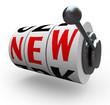New Word Slot Machine Wheels Innovation Change