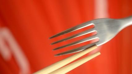 젓가락을 중지 停止筷子 Stop chopsticks