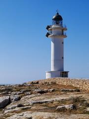 Lighthouse on Cap de Barbaria, Formentera, Balearic Islands