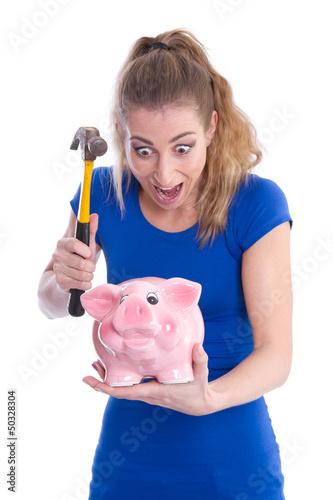 Der Tod des Sparschweins