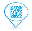 flashcode sur signet bleu