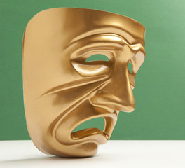Tragedy theatrical mask