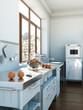 moderne Küche weiss