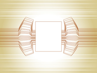 Abstract technology template frame