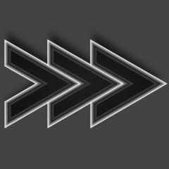 arrow black