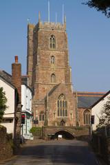 Dunster Church Somerset England