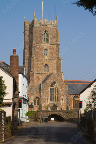 Dunster Church Somerset England