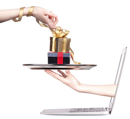 online commerce concept
