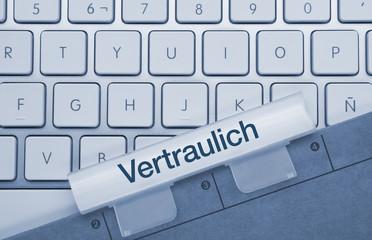 Vertraulich Tastatur