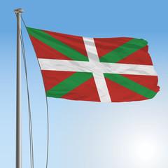 euskadi flag 3D
