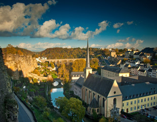 Nice view on Luxembourg