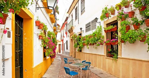 Patio in Cordoba, Spain
