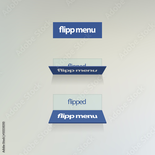 Vector flipp menu for web usage