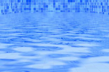 Im Swimmingpool