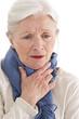 Femme senior - État grippal