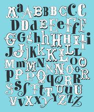 Main dessiner Alphabet