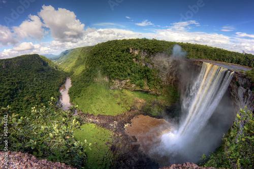 chute de Kaieteur Falls au Guyana amérique du sud amazonie - 50344312