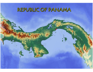 Panama Central America national emblem map symbol motto
