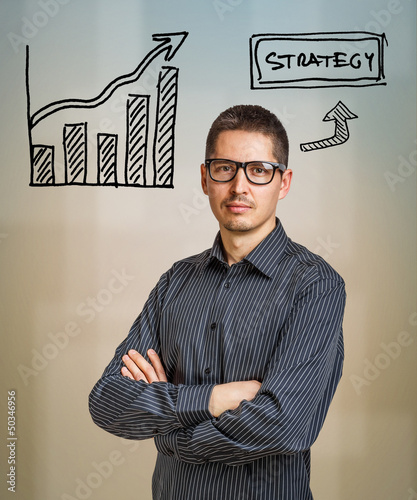 Strategy business concept