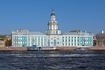 Kunstkamera in Saint Petersburg, Russia