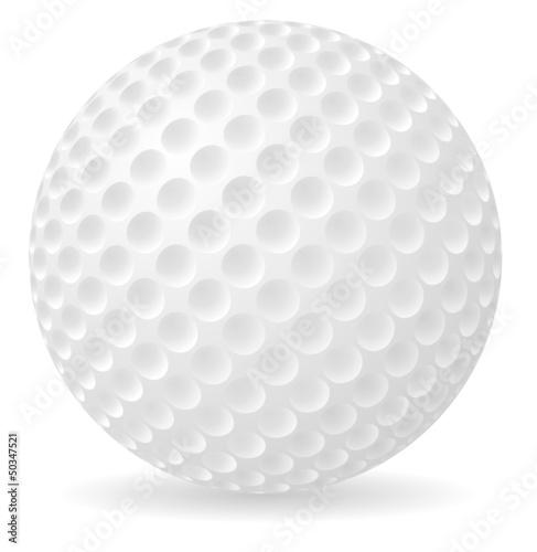 golf ball vector illustration