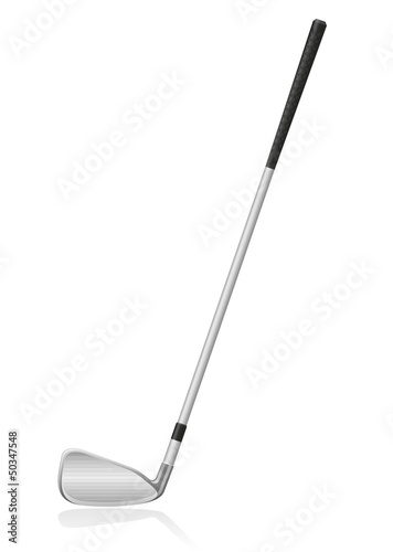 golf club vector illustration