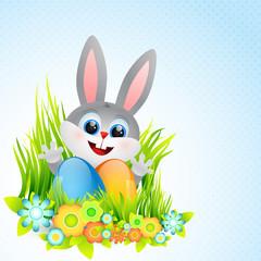 cute rabbit illustration