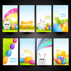 set of easter cards
