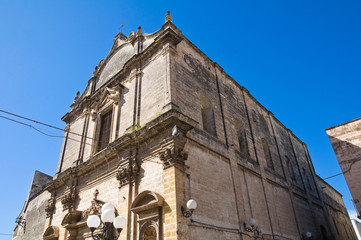 Church of St. Benedetto. Massafra. Puglia. Italy.