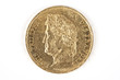 gold coin with Louis-Philippe