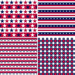 usa seamless pattern
