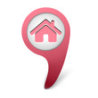 vector house icon web design element