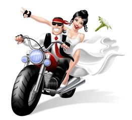 sposi bikers