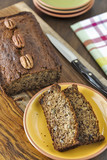 Banana Nut Bread with pecans