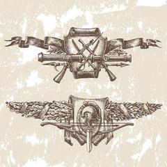 Heraldry, vector