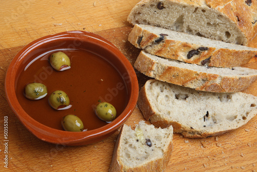 Artisan Bread with Olive Oil