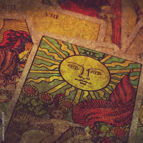 grunge tarot cards