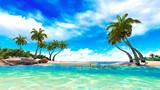 Tropical paradise beach - 50356382