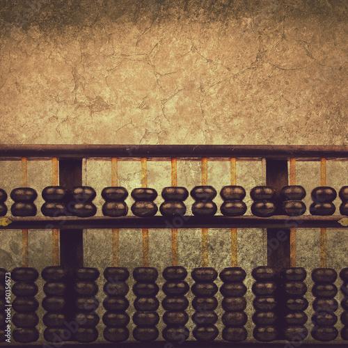 grunge abacus