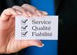 Service Qualité Fiabilité
