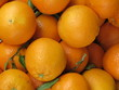 Fresh oranges on the market