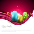 Easter modern background
