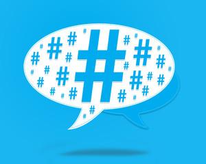 diese - hashtag - numéro