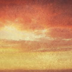 textured warm sky