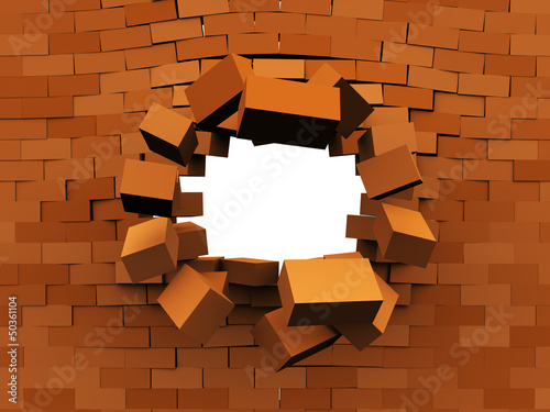 wall demolition
