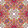 ector seamless hand drawn colorful floral pattern background