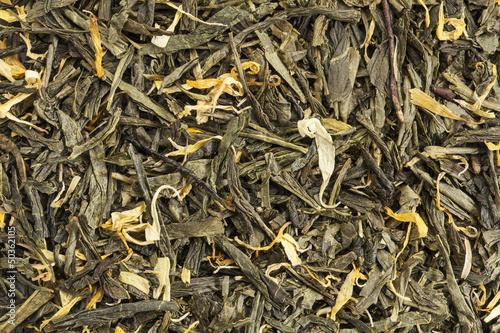 loose leaf green tea