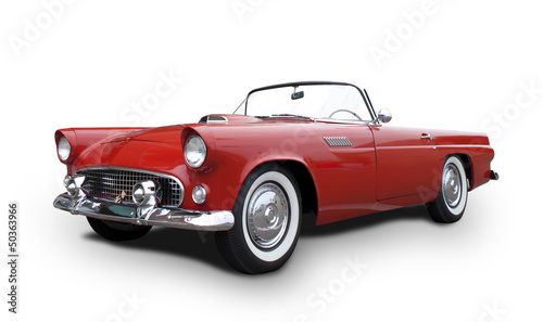 Foto op Canvas Vintage cars Chevrolet Thunderbird